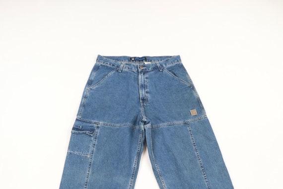 Vintage 90s Levis Wide Leg Baggy Fit Distressed D… - image 2
