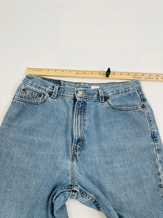 90s Levis 512 Slim Fit Tapered Leg Jeans Womens 1… - image 6