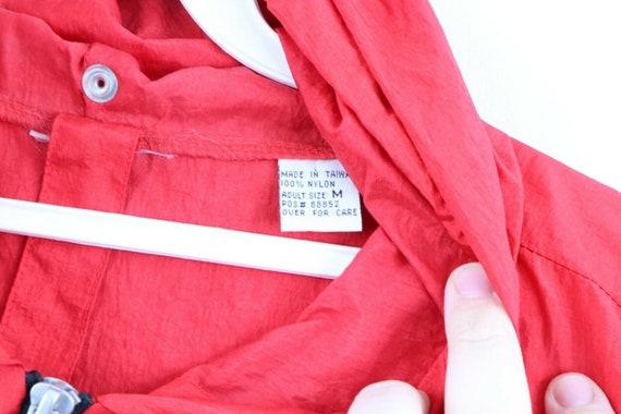 90s Marlboro Mens Medium Blank Packable Hooded An… - image 4