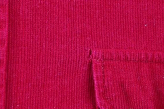 90s Streetwear Mens Small Double Pocket Micro Cor… - image 9