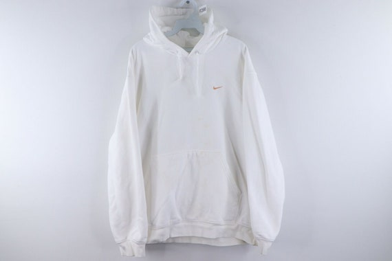 90s Nike Mens XL Travis Scott Mini Swoosh Blank Ho