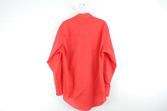 70s Wrangler Mens Medium Double Pocket Long Sleev… - image 5