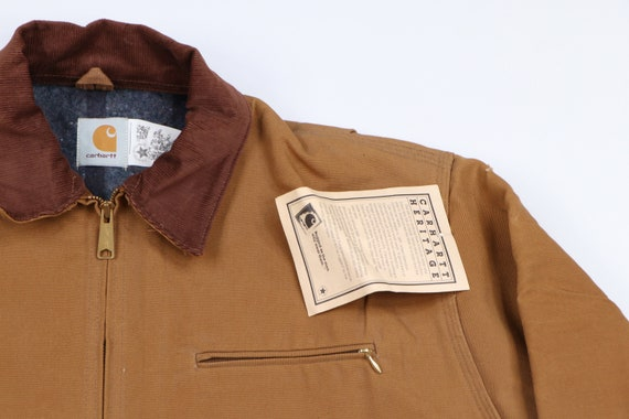 Deadstock 90s Carhartt Mens 48 Tall Blanket Lined… - image 5