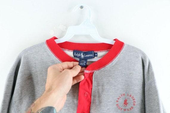 80s Ralph Lauren Body Wear Mens Medium Spell Out … - image 7