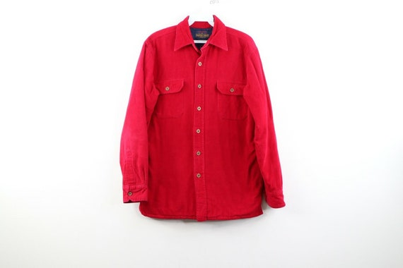90s Streetwear Mens Small Double Pocket Micro Cord