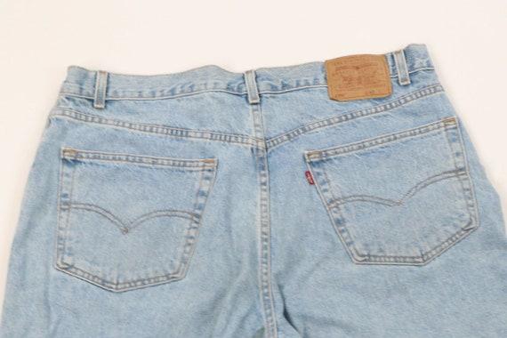 Vintage Levis 550 Mens Size 40 Relaxed Fit Distre… - image 7