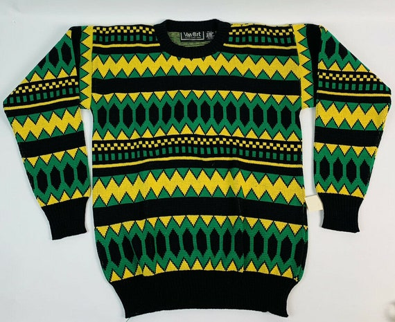 Deadstock Vintage 80s 90s Coogi Style Sweater, Vin