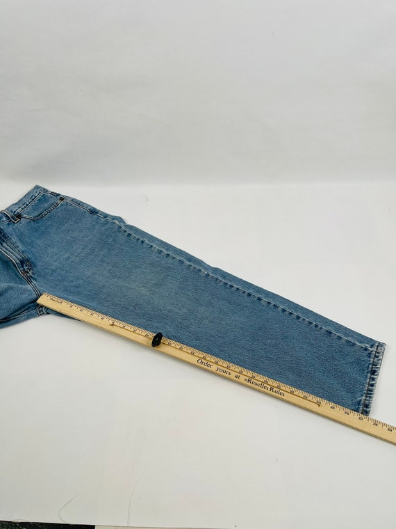 90s Levis 512 Slim Fit Tapered Leg Jeans Womens 1… - image 5
