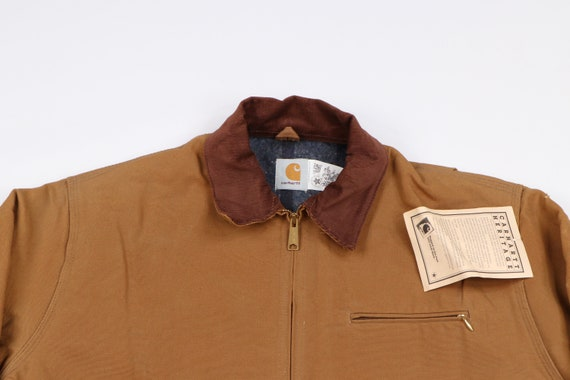 Deadstock 90s Carhartt Mens 48 Tall Blanket Lined… - image 2