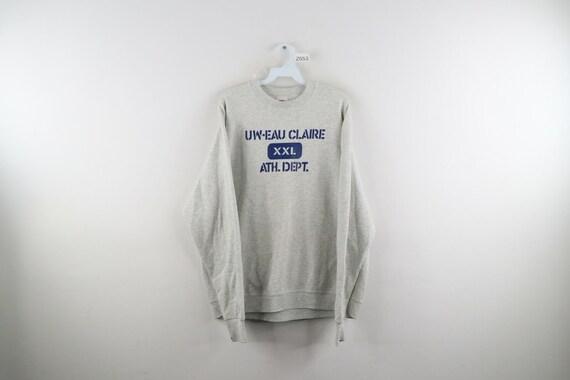 90s Mens XL UW Eau Claire Athletic Department Spe… - image 1