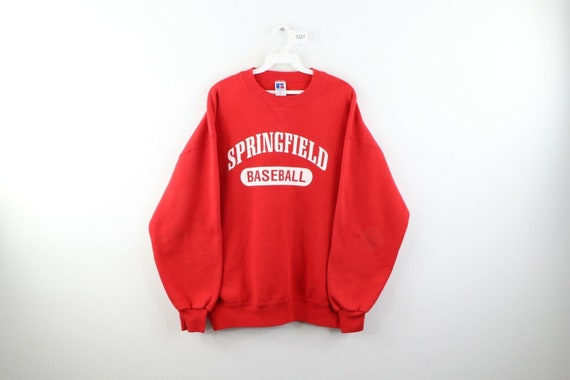 90s Russell Athletic Mens XL Springfield Baseball… - image 1