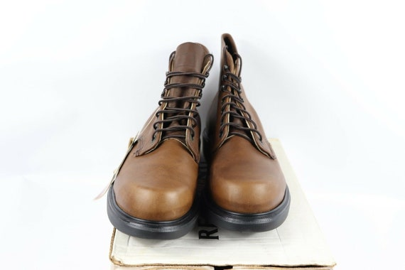 NOS Vtg 90s Red Wing Shoes Mens 13 E Oil Tanned L… - image 4