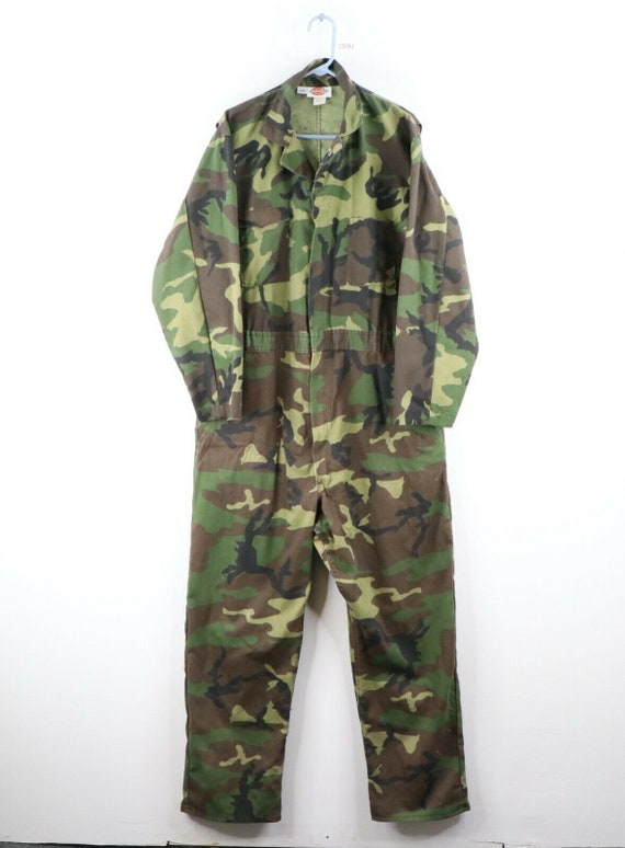 90s Dickies Mens Size 48 Long Faded Camouflage Mec