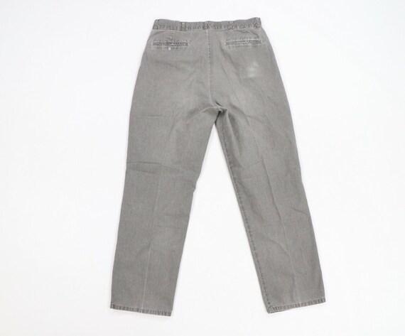 80s LL Bean Mens 31x29 Straight Leg Faded Distres… - image 6
