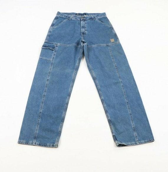 Vintage 90s Levis Wide Leg Baggy Fit Distressed De