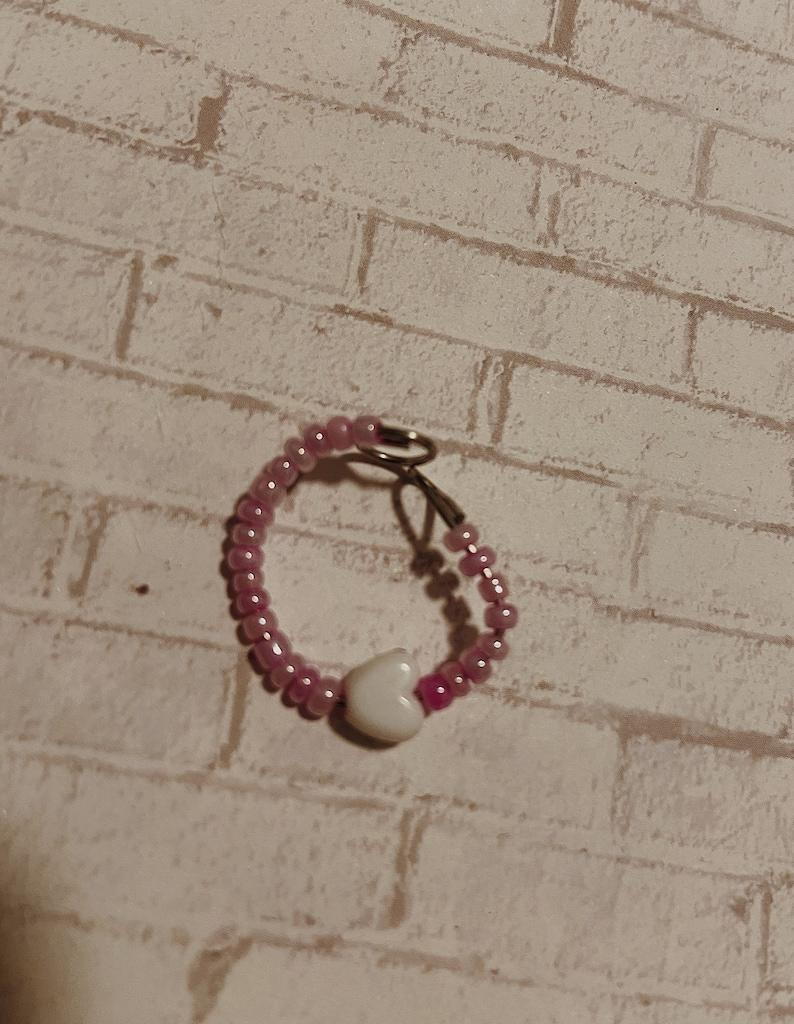 3 pack of pink rings