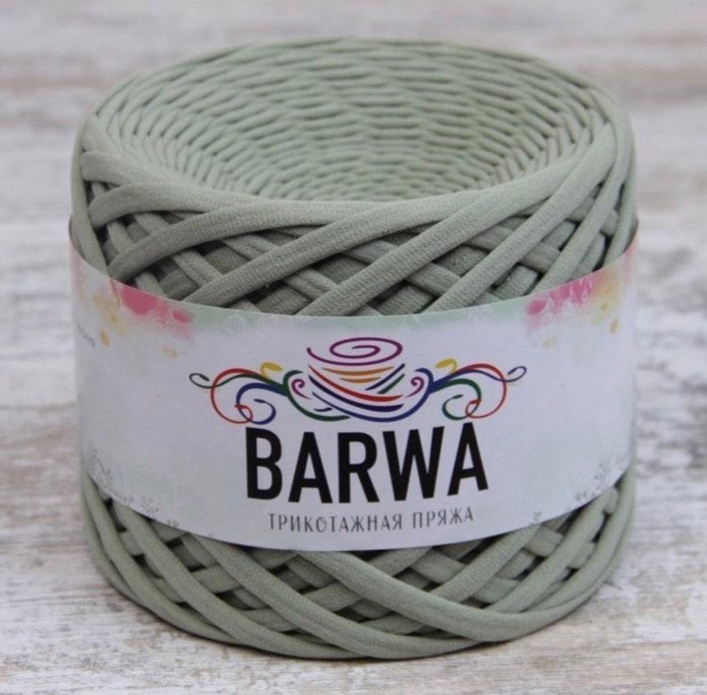4 pcs t-shirt yarn BARWA carpet basket 7-9 mm Cotton yarn High quality crochet cotton yarn 350 gramm 12.3 oz 100 meters 109 yards decor home