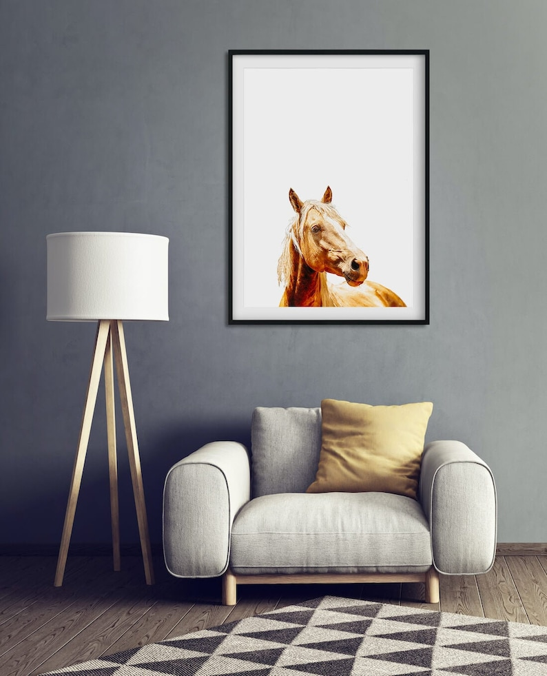 Horse Photography Gift for Horse Lover Horse Print Gift image 0