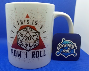This Is How I Roll Dnd Mug Dungeons and Dragons Gift