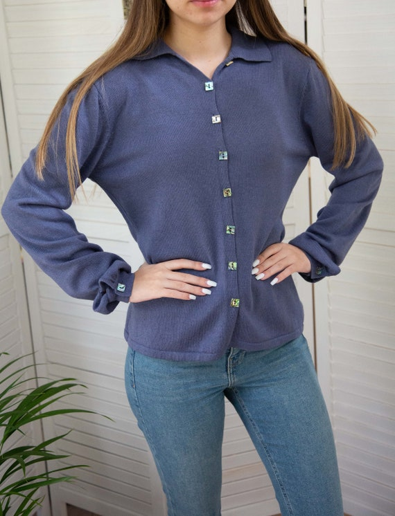 Marilyn Moore - Vintage - 90's  - Lilac- Cashmere