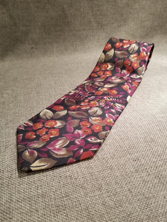 Christian Dior Monsieur Silk Tie - Cranberries