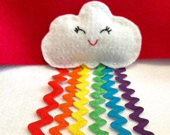 Rainbow Catnip Toy (wand option available)