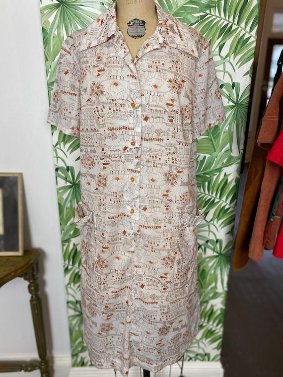 1970's T-Shirt Dress