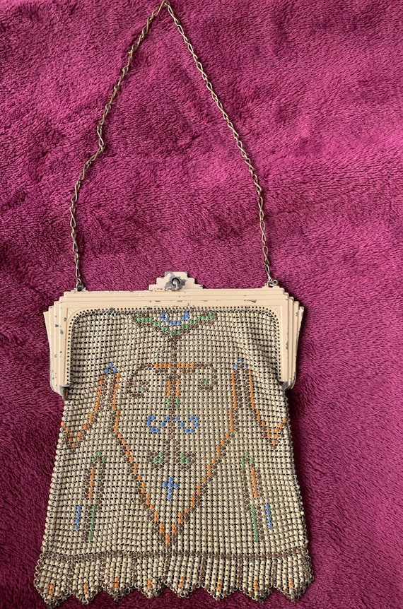 Whiting and Davis Mesh Antique Bag