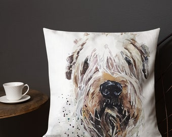 Wheaten Pillow Etsy