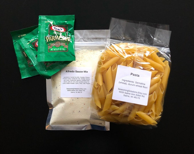 Featured listing image: Pasta Alfredo Meal Kit