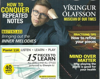 Pianist Magazine, Helping you become a better player *  October / November, 2020  *   No. 116  *  Printed in UK ( Free Shipping )