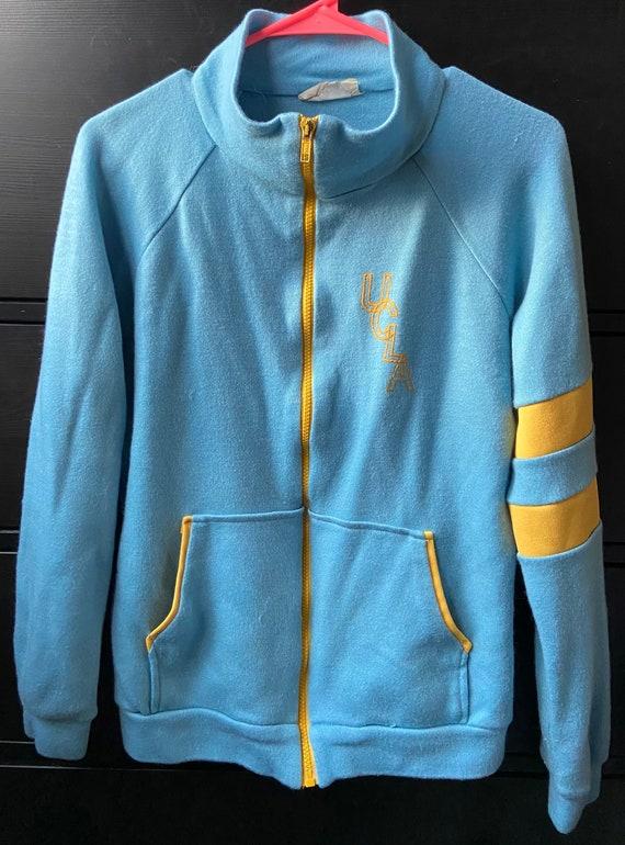 Vintage 1970's UCLA track jacket sweatshirt