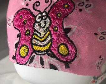 Bandana | Cute Cartoon Butterfly Bandana Headscarf Accessory Scarf