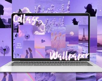 Desktop Wallpaper Collage Kit Photo Collage Wallpaper Etsy