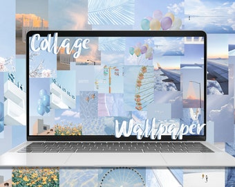 Desktop Wallpaper Collage Kit Photo Collage Wallpaper Etsy