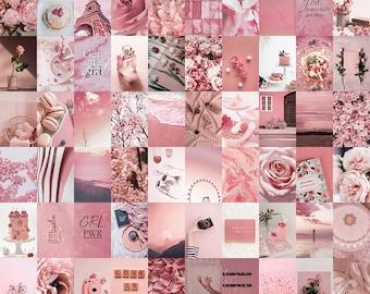 Dusty Pink Wall Art Etsy