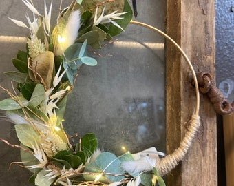 DIY Box Small Loop with Fairy Lights, Gorgeous Window Decoration