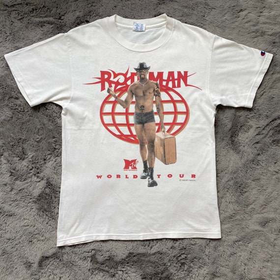1996 Dennis Rodman MTV World Tour size M