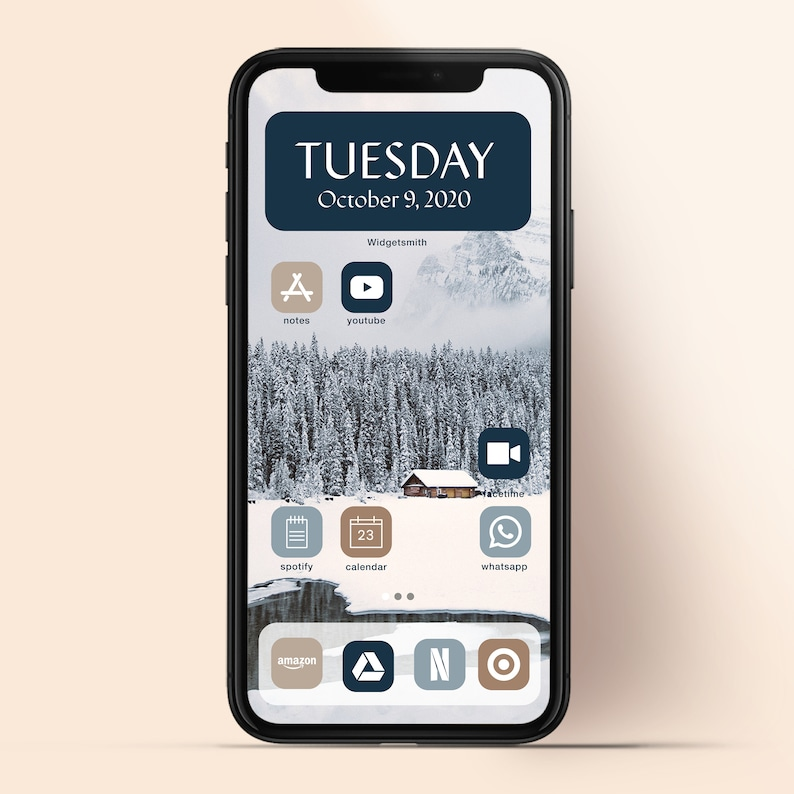Minimalist Neutral App Icons Instant Download Iphone Wallpaper Aesthetic iPhone App Covers iOS 14 App Icons Pack iPhone Icons