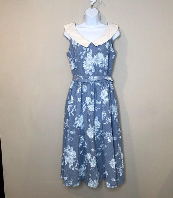 Vintage 80's Lanz Originals Dress. Fit and flare s