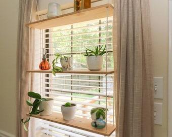 Hanging Plant Shelves - Indoor Planters
