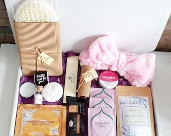 Mum to be Spa Letterbox gift - Pregnancy Gift Box - New Mum Hamper Box - Mummy to be Gift - Hug In a Box - Pamper Hamper - Pamper Box