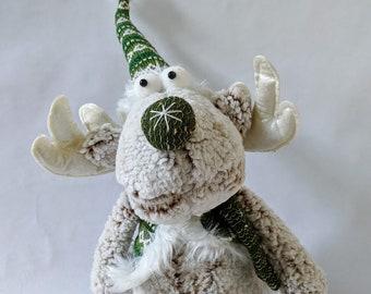 Moose Stuffed Plush Etsy