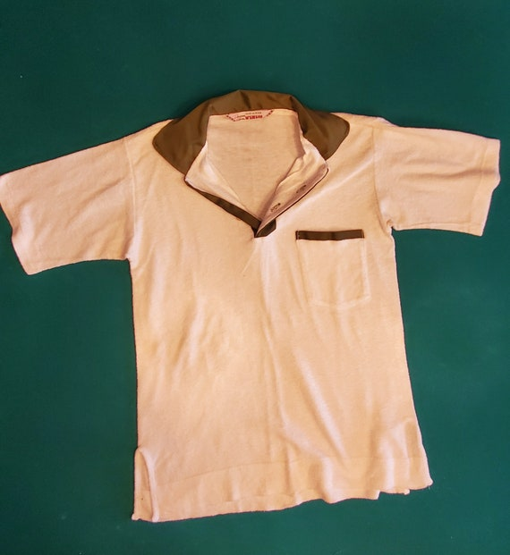 "Vintage McGregor ""Terry Cloth"" Polo Shirt"