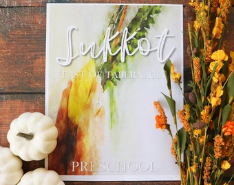 Preschool Sukkot Unit Study