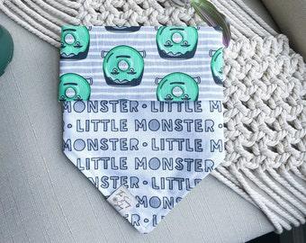 Little Monster Dog Bandana | TIE ON BANDANA