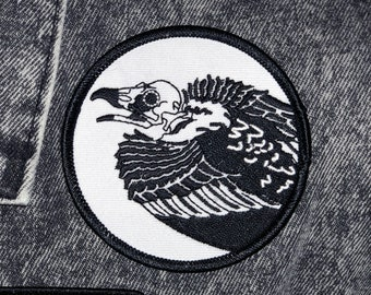 Vulture of The Boys Embroidered Iron On Patch 3 The Boys Meme Spiderman Patch