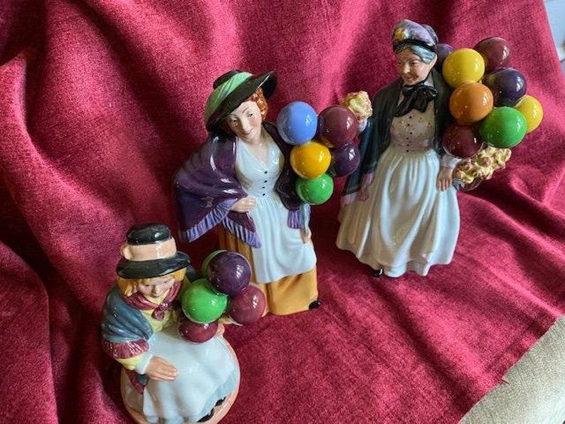 Royal Doulton Balloon lady figurines