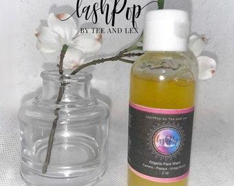 FACE CLEANSER | Organic Face Wash | Turmeric and Papaya Zero Waste