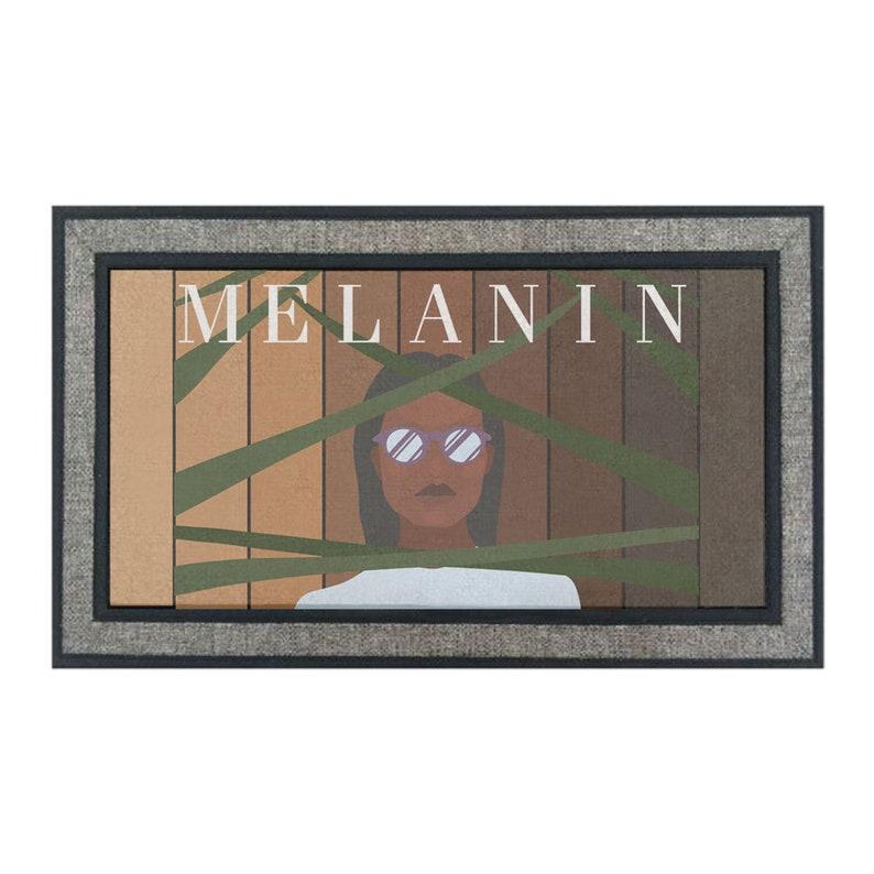 Melanin Doormat 18 x 30 inches